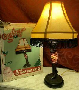 "Vintage NECA Light A CHRISTMAS STORY Movie Replica 20"" LEG LAMP in Box WORKS!"