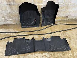 WeatherTech Liners Black Front & Rear 3 Pieces Dodge Durango Jeep Grand Cherokee