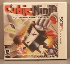 Cubic Ninja (Nintendo 3DS, 2011) ***BRAND NEW*** Y-Fold Sealed Hard to Find