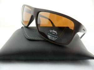 Serengeti Sunglasses CLAUDIO Sanded Dark Brown - Polarised Drivers Photochromic