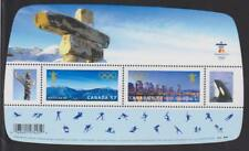 2010 Canada SC# 2366 Vancouver 2010 Olympic Winter Games - S. S. Lot# 63 M-NH