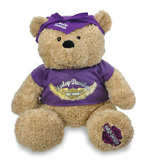 "Harley-Davidson 19"" Jumbo Spirit Teddy Bear Stuffed Animal 20449LK Purple"