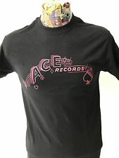 ***NEW*** 'ACE RECORDS' BLACK T SHIRT ROCKABILLY HILLBILLY 40s/50s FREEPOST