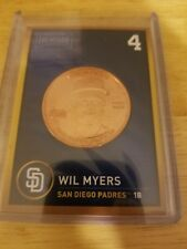 2018 Baseball Treasure Coin Wil Myers Hit For the Cycle