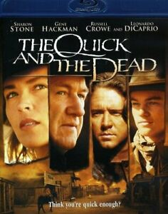 The QUICK AND THE DEAD (1995)  BLU RAY  RUSSELL CROWE  LEONARDO DICAPRIO