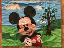 Disney Mickey Mouse Club House Twin Pillow Case Set Of Two