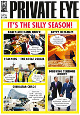 PRIVATE EYE 1347 - 23 Aug - 5 Sep 2013 - IT'S THE SILLY SEASON!
