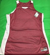 New listing NWT'S Nike Reversible Practice Jersey Women's SZ 2XL Maroon White MSRP 30$