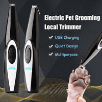Electric Pet Grooming Local  Cat Dogs Foot Hair Trimmer Clipper Shaver Low
