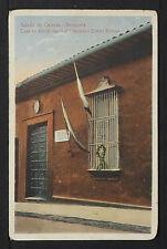 VENEZUELA 13-CARACAS -Casa donde nació el Libertador Simón Bolivar