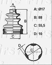 CV JOINT BOOT KIT FOR TOYOTA YARIS/VITZ FCB6365