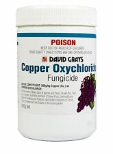Copper Oxychloride Fungicide 200g David Grays Black Spot Brown Rot Rust
