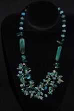 Bold Aventurine & Green Agate Necklace