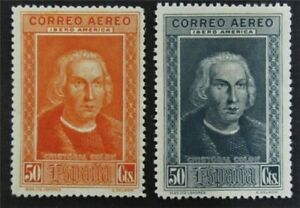 nystamps Spain Stamp Mint OG H Color Proof Rare  L30y1298