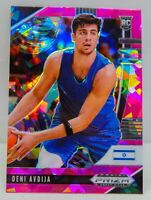 Deni Avdija RC 2020-21 Prizm Draft Picks Pink Cracked Ice Rookie Card #6 Wizards