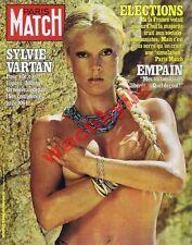 Paris Match n°1672 - 12/06/1981 Sylvie Vartan Mitterrand guillotine Maria Callas