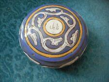 boite bonbonniere  en ceramique d'Alger - maghreb Algerie