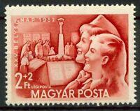 Ungheria 1952 SG 1261 Nuovo ** 100% Giornata del francobollo