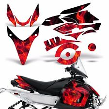 Yamaha Phazer Decal Graphic Kit Sled Snowmobile Parts Wrap RTX GT 07-16 ICE RED