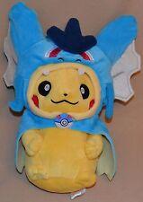 "9"" Gyarados Pikachu # 25 Pokemon Plush Dolls Toys Stuffed Animals Blue Dragon"