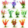 10pcs Pianta Artificiale per Acquario Decorazione Finte Plastica Colorate