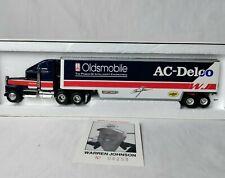 Ertl Race 1992 WARREN JOHNSON AC-DELCO Oldsmobile Transporter Die Cast