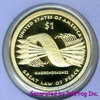 2010 S Native American/Sacagawea Dollar Deep Cameo Gem Proof