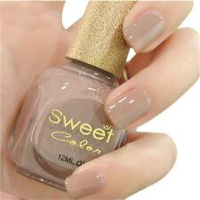 12ml Sweet Color Nail Art Polish Nude Varnish Manicure DIY Nails Varnish DIY