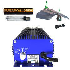 600 W numériques Lumatek Croissance Kit = Ballast HPS Lampe Réflecteur & free corde cliquets