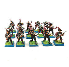 Warhammer Fantasy Army Empire HANDGUNNERS X15 PAINTED AND BASED