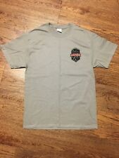 Red Point Riot Climbing Competition T-Shirt Gray Medium UNT Spring 2018