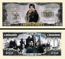 SUPERBE ! HARRY POTTER BILLET MILLION DOLLAR US Collection Hermione Ron Poudlard