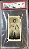1936 Mitchell & Son Gallery of 1935 #26 Shirley Temple PSA 8.5 NM-MT+
