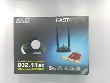 Asus Network PCE-AC56 Dual-band Wireless-AC1300 PCI-Express Adapter 802.11ac