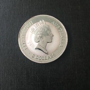 2 Oz Silbermünze Australien Kookaburra 1993