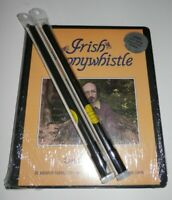 Learn the Irish Pennywhistle McConnell Cassette Tape Course + 2 Walton's Whistle