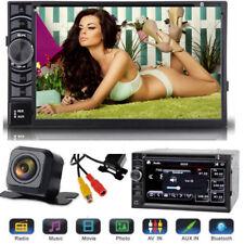For 2000-2009 Dodge Ram 1500 2500 3500 Car Stereo 2Din FM AM Radio & Rear Camera