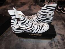 NIB CONVERSE CT CHUCK TAYLOR ALL STAR SHROUD Zebra Womens 550854C $125 SIZE 8