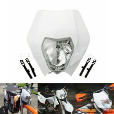 Moto phare enduro Avant Lumière pour Motocross Dirt Bike XR WR CR RMZ KTM
