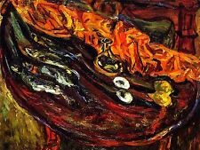 CHAIM SOUTINE FISH PLATE ART PRINT POSTER PICTURE LF233