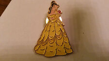Beauty and the Beast - Belle Holding Red Rose in gown European Disney pin
