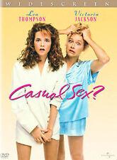 Casual Sex? (DVD, 2002, Widescreen) Lea Thompson, Victoria Jackson *NEW*