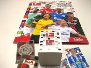 TOPPS German Bundesliga 2018 - 2019 complete set ALL Stickers  emphty Album
