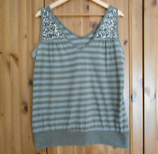 Lovely Sage Green / Khaki Top from Evie s: 18-20