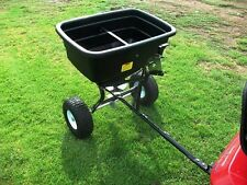 113 kg Tow Behind Fertilizer Spreader
