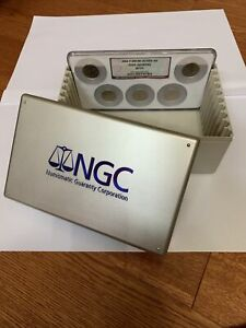 Official Multi NGC Plastic Slab Box Holder 10 Coins Long Term Collectors Storage