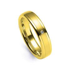 Herren-Ringe im Band-Stil aus Gelbgold