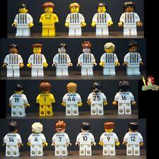 Custom LEGO Minifigure Juventus 20 21 Team 11 Players Ronaldo McKennie UV Print