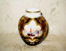 Antique Royal Crown Derby Artist Signed Hand Painted Vase