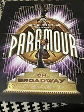 Paramour on  Broadway Cirque Du Soleil Souvenir Program  2016